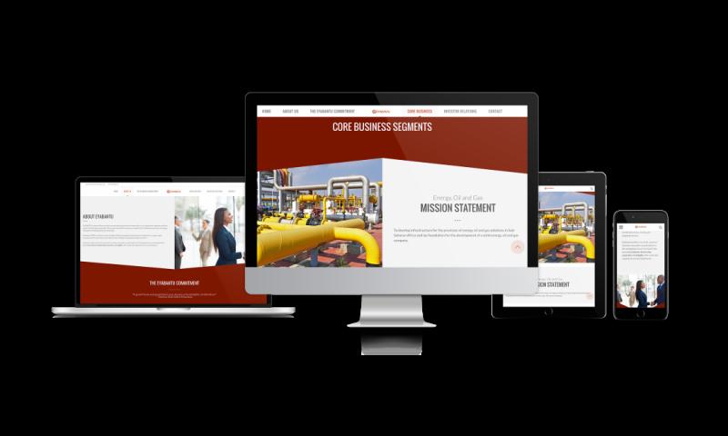 Eyabantu Website Development