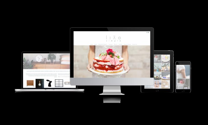 Live simple website quote generator portfolio shift ctrl for Minimalist living websites