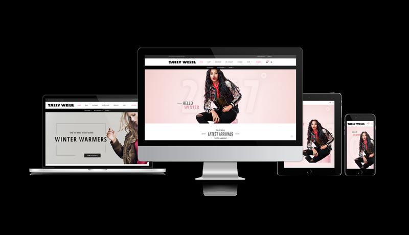 Tally Weijl Ecommerce Website